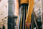 柄スカートのコーデ・3つのヒント。色合わせを楽しむ秋冬の大人コーデ