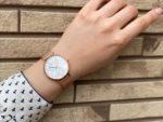マザーオブパールとメッシュベルトが華やかなレディース腕時計【ALTO Pure love】レビュー